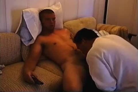 sexy Straight lad gets His First blowjob-