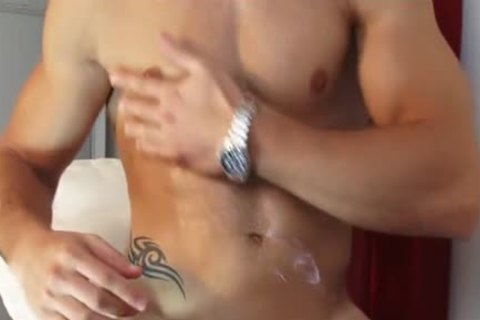 My Gym Trainer Made A Orn clip: Watch His giant cock acquires Wanked!