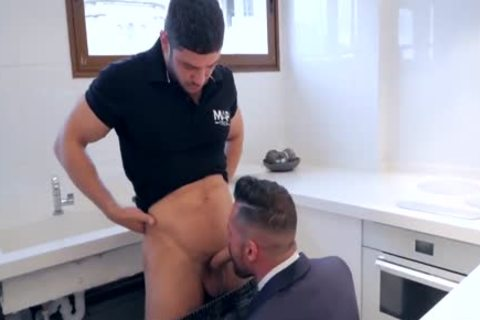 receive His ass pounded By Plumber
